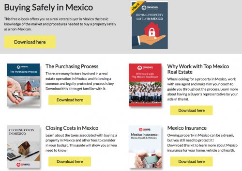 Ebooks about Mexico Real Estate