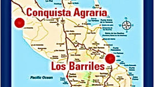 Our Pacific Property is In Conquista Agraria